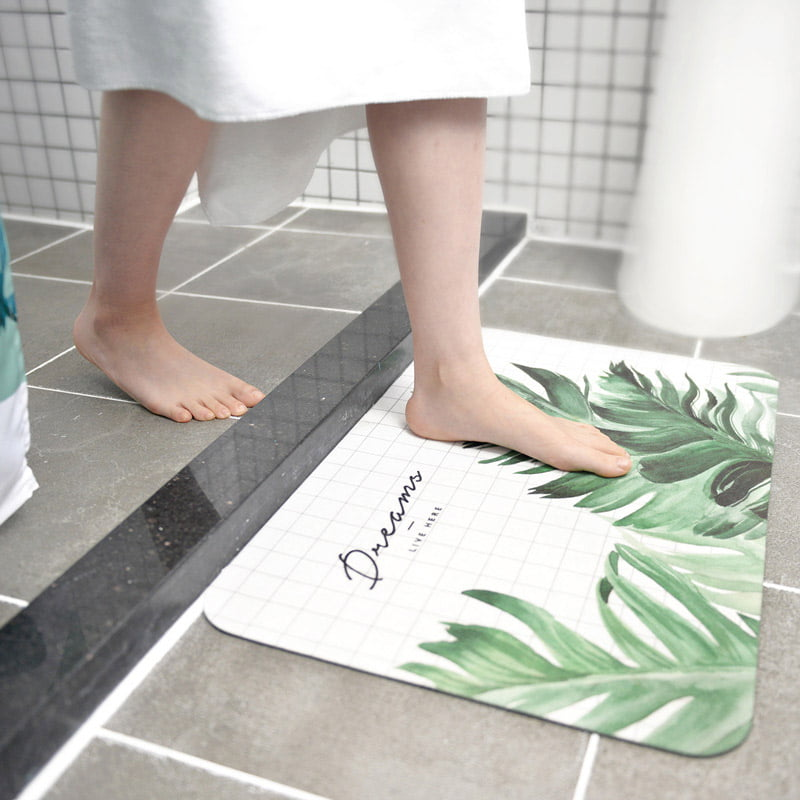 Thảm cát tảo hút nước chống trơn trợt cho nhà tắm Thome