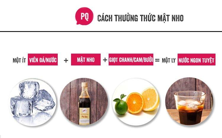Mật nho Ninh Thuận nguyên chất Phú Quý