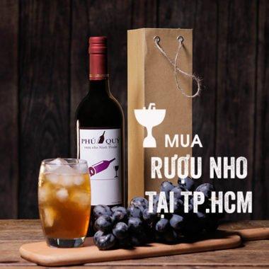 Mua Rượu Nho Ninh Thuận ở HCM