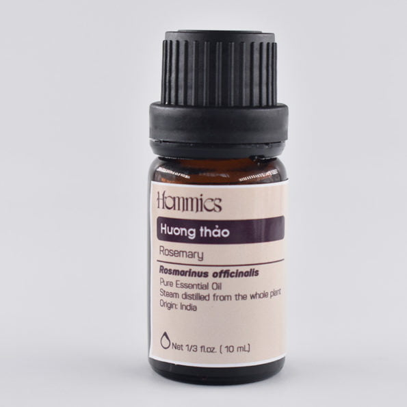 Tinh dầu Hương thảo nguyên chất thiên nhiên Hommies 10ml