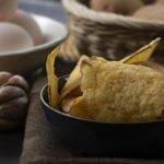 Khoai tây sấy Đà Lạt trứng muối giá rẻ, chất lượng