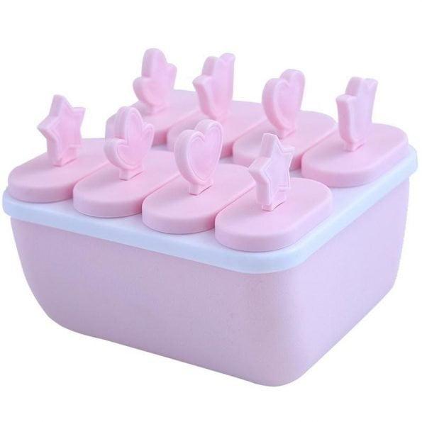 Khuôn làm kem que 8 que nhiều kiểu THOME DY08