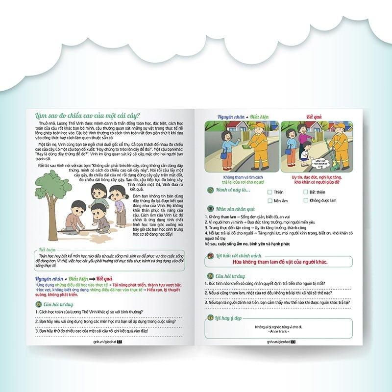 Bộ truyện tranh Gieo hạt cùng vĩ nhân (Bộ 2 tập 11 - 20)